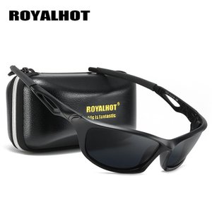 RoyalHot Men Women Polarized Hollow-Out Frame Sports Sunglasses Vintage Sun Glasses Retro Eyewear Shades Oculos Male SPT016
