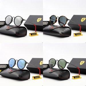 MICC Nuovo ALOZ donne di modo rivetta gli occhiali da sole Vintage 2020 Piazza design di lusso di nuova marca specchio di vetro di Sun Shades UV400 A151 # 151