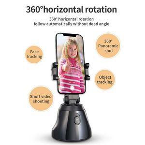 360 selfie Suivi du visage Rotation bâton trépied objet de suivi Support Caméra Gimbal pour Photo Vlog en direct Enregistrement vidéo