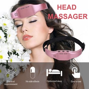 Insomnia Treatment Head Migraine Pain Relief Massager Equipment Soothe Anxiety Release Stress Headband Electric Head Massager