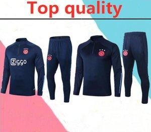 2020 2021 Ajax MILIK adult Soccer Jersey training suit 2020 2021 maillots de foot KLAASSEN HUNTELAAR TADIC football tracksuit