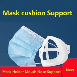 Bocca Holder Mask Bocca Naso di sostegno volto copertina Artefatto basamento della staffa interna facilitare la respirazione Holder Spazio Bocca coperchio riutilizzabile OWC978