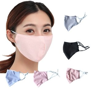 nuovo adulto ghiaccio maschera in crema protezione solare, la polvere, nebbia, foschia, traspirante, fresco e alla moda estate antipolvere lavabile uomini e di DWB1251 delle donne