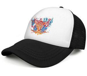 Grateful Dead Aoxomoxoa tiger mens and women trucker cap baseball design custom mesh hats logo grateful dead anniversary skull Steal The