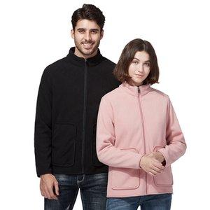 Automne Hiver Couple Hommes Manteau Sweat à capuche Big Poche Sweats à capuche Feule Fleece Flanelle Pullover Femme Sweat-shirt Fleece Slim Veste Tops