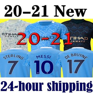 Manchester City 2021 man XXXL 4XL 19 20 futbol forması 2019 2020 şehir İSA DE BRUYNE Kun Agüero futbol forması Camiseta MENDY SİLVA MAN üniformalar manchester gömlek
