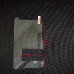 7 인치 태블릿 보호 필름 + 청소 닦음 없음 상자 크기 180x100mm에 대한 보편적 인 강화 유리 필름 화면 보호기