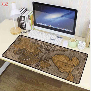 XGZ 700 * 300mm Old Map gommato Mouse Pad Mouse Game Pad Grande Cartoon Anime Chiave di gomma Carpet Desk Mat