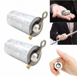 2 pezzi Il personale portatile di arti marziali magia metallo Pocket Bo Staff- nuovo di alta qualità Pocket puntelli magici del personale D9QZ portatile #