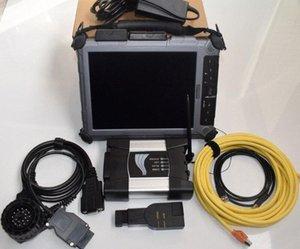 pour BMW ICOM Next Ordinateur portable Xplore iX104 Tablet ICOM Next A2 + B + C pour BMW outil de diagnostic pour BMW ICOM A2 LAPTOP ZsDG #