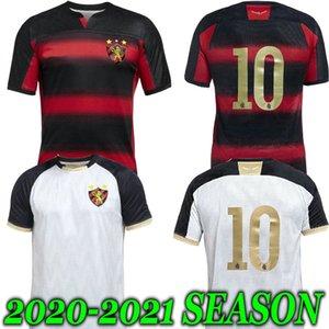 (20) (21) 스포츠 레시 페 홈 축구 유니폼 헤르 난 GUILHERME SANDER 빨간색 2,020 2,021 흰색 멀리 축구 셔츠 클럽 MAILSON ADRYELSON CHARLES
