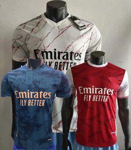 Player Version Arsen Fußball-Trikot PEPE NICOLAS CEBALLOS SOKRATIS MAITLAND-NILES TIERNEY WILLIAN 2020 2021 Fußball-Spieler enge Hemden