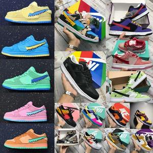 2021 chaussures nike alta sb húmido robusto Dunky Grateful Dead baixas enterradas sapatilha ursos sapatosTravisscott mens casuais mulheres designer sneakers / nmxi #