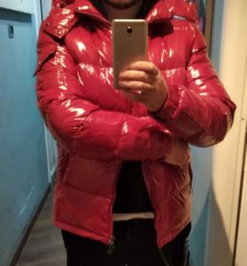 20ss 남성 자켓 코트 두꺼운 가을 겨울 윈드 브레이커 코트 두꺼운 까마귀 outwear 빛나는 자켓 아시아 크기 남성 의류
