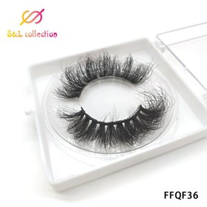 1box eylashes mink false lashes FLUFFY lashes for party mink eyelashes natrual makeup 3d maquiagem drop shipping