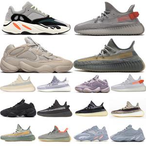 TOP 700 V2 Kadın Erkek Yecheil Kuyruk Işık Tasarımcısı Ayakkabı 500 Kemik Beyaz Zebra Desert 500 Koşu Sneakers Kemik Beyaz Allık Cinder Yansıtıcı