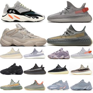 TOP 700 V2 Womens Mens Yecheil Tail Designer Shoes luce 500 Bone White Zebra Deserto 500 Esecuzione di scarpe da tennis Bone White Blush Cinder riflettente