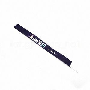 Новый Trump Garden Wristband 25 X 1.9cm Руки Украсьте президент США Всеобщие выборы 2020 Trump Handband Вымпел ручной ремешок партии HHA40 97FO #