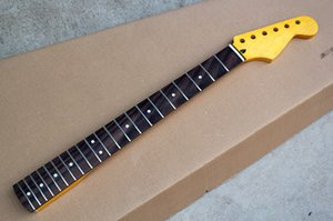 Factory Custom Electric Guitar Neck Kit(Parts) with 6 Strings,Rosewood fretboard,21 Frets,Offer Customized