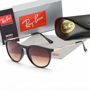 Hot Rimless T8300816 Black White Buffalo Horn Sunglasses Men Women Brand designer Glasses Frame box