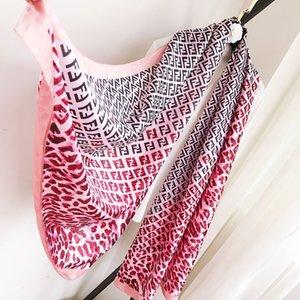Новые 2020 дизайна лето шелковых шарфов дамы и женщины шелкового шарфа моды ювелирных изделий косынки платок шарф женщины