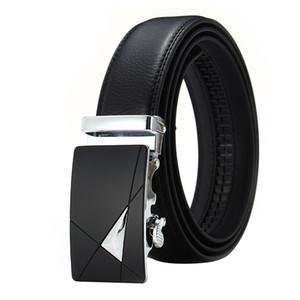 Suit Pants Men Belt High Quality Imitation Leather Automatic Buckle Men's Belt Fashion Business Pants Wild Luxury