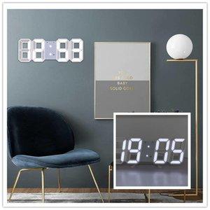 3D LED Digital Table Clock Multifunction Date Display Night Light Wall Clocks Desktop Reloj de Mesa Decorativo Home Decor Study