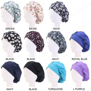 New Cotton Breathable Bandage Adjustable Nurse Bouffant Hat Dust proof Head Cover Unisex Scrub Cap Gorro Enfermera Quirofano