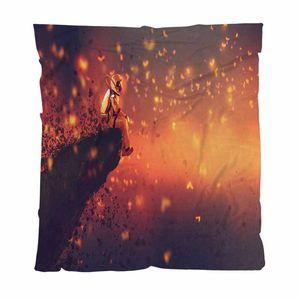 El astronauta Inicio cama del dormitorio de lujo Manta astronauta sentado sobre un acantilado S Edge Looking Para Couch / Silla / asiento de amor / autocaravana Manta
