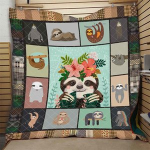 Cartoon Sloth Quilt Cute Fashion Comfortable High End Kids School Adults Bed Summer Autumn Quilt Hot Selling Dropshipping