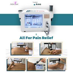 2021 Máquina de terapia de onda de choque disfunción eréctil Terapia física portátil Máquina de presión de alivio del dolor de la onda de choque 10 millones de disparos