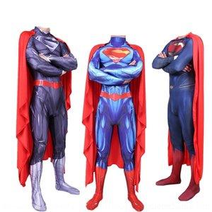 VO6ub apertado Superman herói tightsclothing super cosplay uma peça justas calças Superman dKQwQ calças apertadas tightsclothing super-herói cosplay em