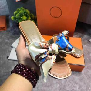 topsportmarket guozi20156 zapatos donne diapositive progettista Hausschuhe Pantoufle Il colore della sciarpa di seta è casuale con la scatola