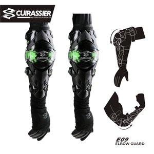 Cuirassier rodilleras conductores de motocicletas de motocross rodillera Off-Road Elbowpad Protective Gear Set Brace coderas protector guarda