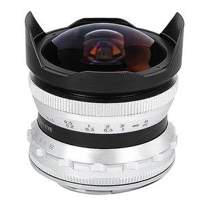 7.5mm F2.8 фиксированный фокус объектива Fisheye Подходят Руководство Prime Lens для SONY NEX Mount Micro-Single Camera Silver