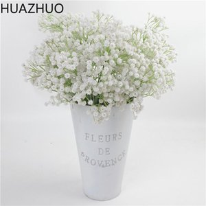 3 Forks 135 Heads Flower Bouquet Artificial Full Sky Stars Flower Branch Simulation Home Wedding Party Decoration