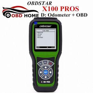High Qaulity X100 PROS Auto Odometer Adjustment Tool X 100 Pro For Mileage D Model Odometer OBDSTAR X 100 PROS Update Online R3sz#