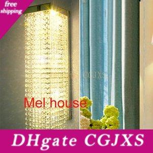 K9 Kristal Duvar Işıklar Modern Lambalar Moda Ayna Aydınlatma Bar Kristal Duvar Işık Moda Kişilik Duvar lambası Salon Arkaplan Lambası