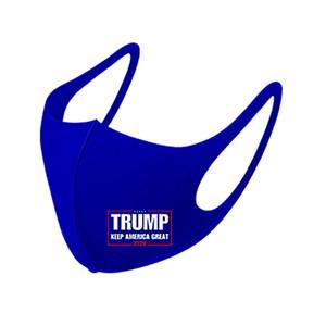 corsa presidenziale Trump Viso Bocca copertura PM2.5 mascherina del respiratore antipolvere antibatterico lavabile riutilizzabile Ice Seta Maschere DWD1045