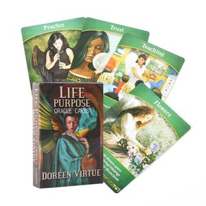 Oracle Purpose Card Party English Life Game Guidebook With Purpose Full Tarot Cards Supplies Deck Life Oracle Cards yxleXe xhlove