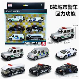 1:64 6pcs / set Mini Liga Engenharia Car Tractor Toy Dump Truck Modelo veículo transportador educacionais Kids Brinquedos Meninos presente