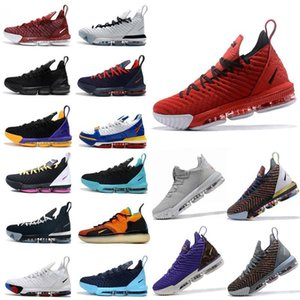 2020 novo James 16s tênis de basquetelebron 16 Homens Tribunal exterior formadores sneakers chaussures esportes sapatos tamanho 40-46 AEUB #