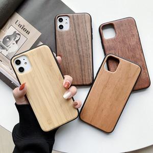 Las ventas calientes de grabado del diseño TPU de la caja de madera del teléfono