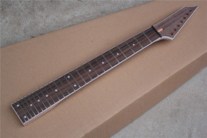 Factory Custom Electric Guitar Neck Kit(Parts) with 7 Strings,white binding,Rosewood fretboard,24 Frets,Offer Customized