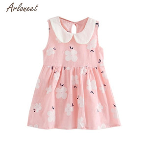 3 Colors Baby Dresses Lovely Girls Summer Princess Dress Kids Baby Party Wedding Sleeveless Hot drop shipped ST25