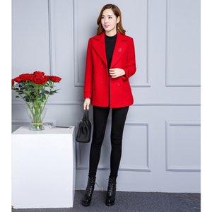 q0Tnl Новая весна корейски женщин все-матч пальто большого размера пальто бутик 2020 мама осень Mom Put Мама PUT матери одежда