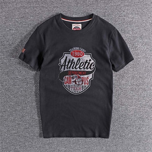 New summer baseball printed youth t-shirt European and American round neck short sleeve base coat high quality tops Tee on sale 0923