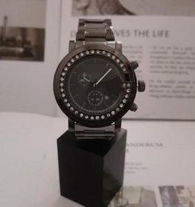 재고 있음 뜨거운 판매 럭셔리 커플 디자이너 시계 스테인레스 스틸 다이아몬드 시계 남성 여성 고품질 석영 유명 디자이너 손목 시계