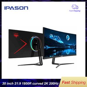 IPASON GAMING Monitor QR302W 30-inch 2K / ارتفاع معدل العرض 200Hz شاشة العرض 21: 9 مع PS4 E-Sports / Desktop