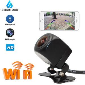 Smartour широкоугольный WiFi Wireless Автомобильная камера заднего вида HD резервного камера заднего ночного видения долговечны и практичны